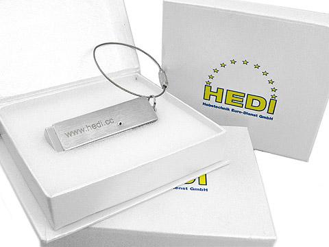 Gravierter Metall USB-Stick Firmenlogo, Metall.05