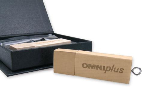 Holz USB-Stick braun bedruckt, deckel, Holz.01