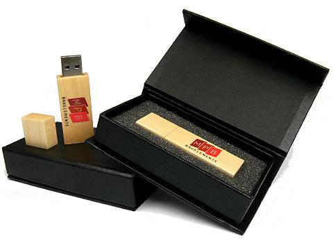 Holz USB-Stick braun bedruckt MPB, deckel, Holz.01