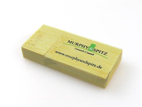 Holz-USB-Stick bedruckt Werbegeschenk, Holz.03