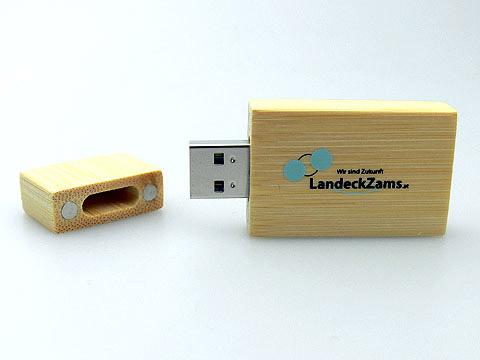Holz USB-Stick Logo-Aufdruck Aufschrift, Holz.03
