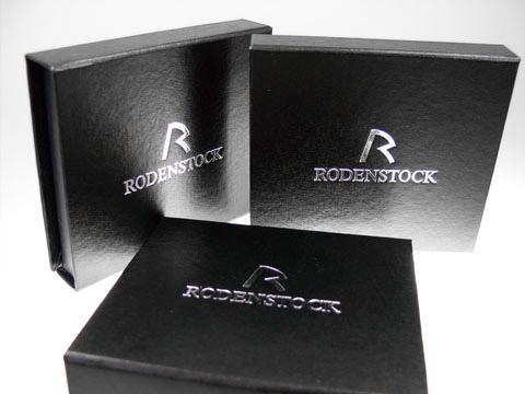 Klappbox Geschenkbox schwarz Logoaufdruck, K01 Magnetklappbox