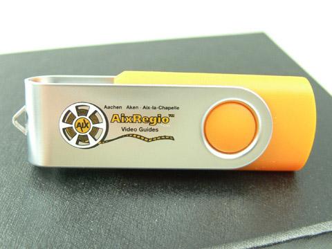 Klassischer USB-Stick als Werbegeschenk, Metall.01