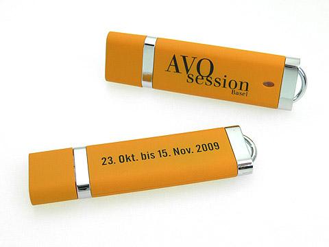 Kunststoff-USB-Stick Firmenfarbe Firmenlogo, Kunststoff.10