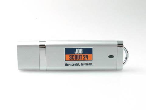Kunststoff-USB-Stick Job Aufdruck Werbeartikel, Kunststoff.10, famous,