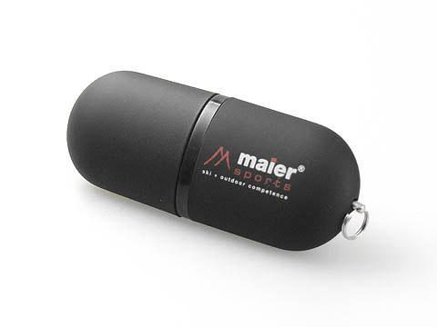Kunststoff-USB-Stick schwarz Werbegeschnenk, Kunststoff.03