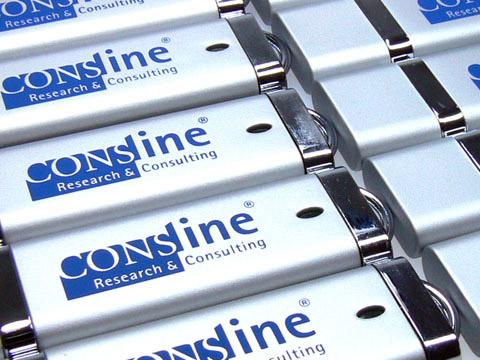 Kunststoff USB-Sticks silber m Aufdruck, Kunststoff.10