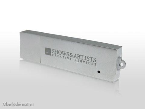 Metall-USB-Stick gravierte Aufschrift Logo, Metall.04
