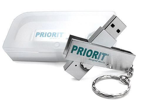 Metall USB-Stick Firmengeschenk Logo, Metall.05