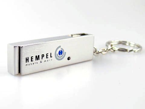 Metall USB-Stick metal print bedruckt silber, Metall.05