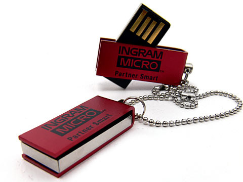 Mini-07 kleiner usb-stick rot ingram-micro, Mini.07