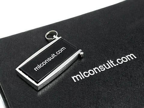 Mini-13 USB-Stick klein metall schwarz, Mini.13