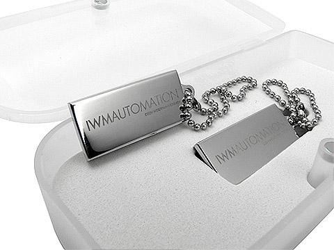 Mini-USB-Stick Metall klein graviert schick, Mini.01