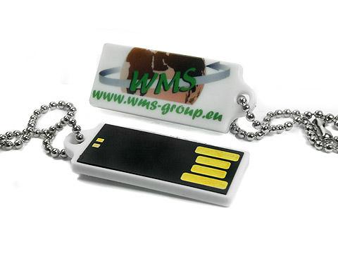Mini-USB-Stick micro klein kunststoff aufdruck, Mini.18