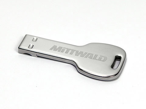 Mini Schluessel-USB-Stick 04 metall, USB Mini-Key.04
