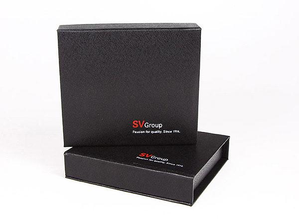 SVGroup schwarze Magnetbox, K01 Magnetklappbox