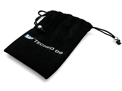 Samtbeutel Geschenkbeutel SAP, Textilsäckchen