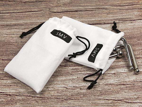 Kleines Textilsäckchen aus Samt mit Kordel
