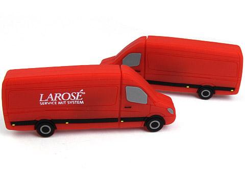 Transporter USB-Stick Logistik individuell rot, Transporter.01