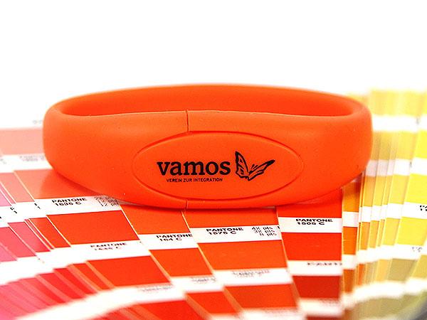 USB Armband orange