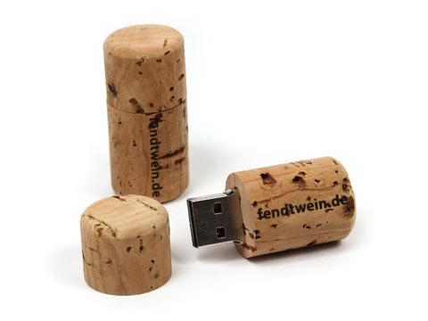 USB-Korken-02-Wein-Kork-braun, USB-Korken.02 braun
