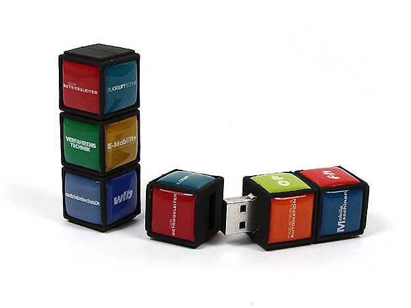 USB-Stick-MagicCube-wlb, USB-Magic Cube