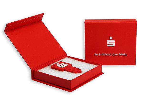 USB-Stick-Verpackung-Druck, K01 Magnetklappbox