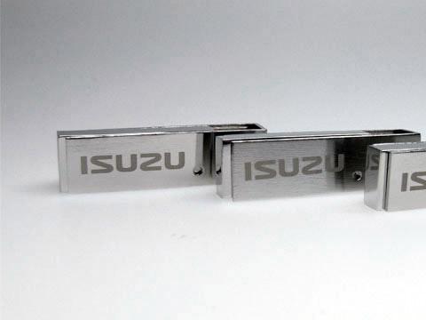 USB-Stick Metall graviert Werbegeschenk, Metall.05, famous,