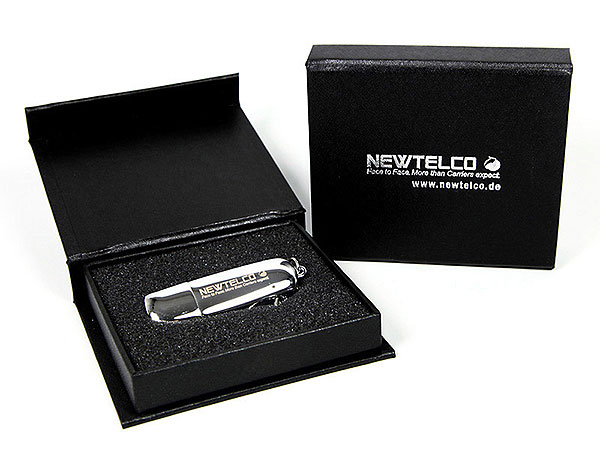 USB-Stick VP Newtelco, Metall.24