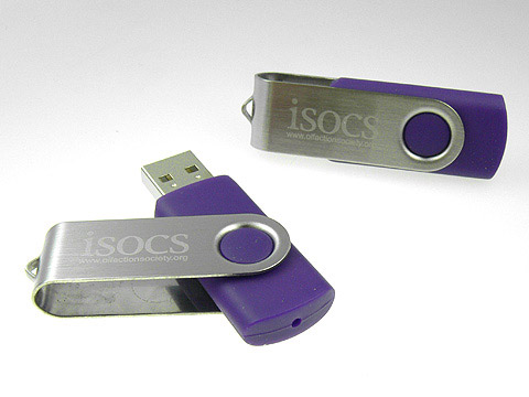 USB-Stick in Sonderfarbe mit Gravur, Metall.01