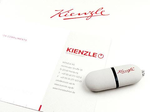 USB-Stick weiss Logo-aufdruck Werbemittel, Kunststoff.03