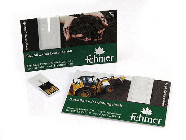 USB Visitenkarte Fehmer, USB Visitenkarte