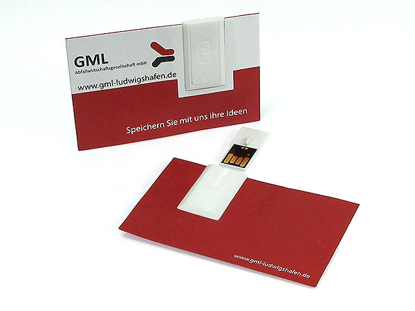 USB Visitenkarte GML, USB Visitenkarte