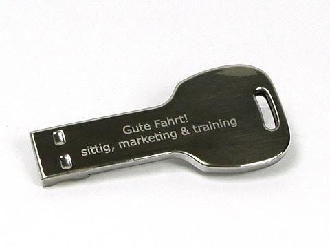 USB-mini-key-04-silber-metall, USB Mini-Key.04