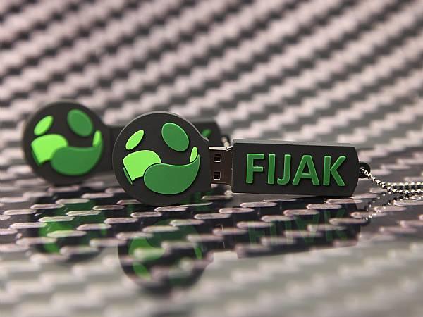 USB stick werbegeschenk logo rund individuell