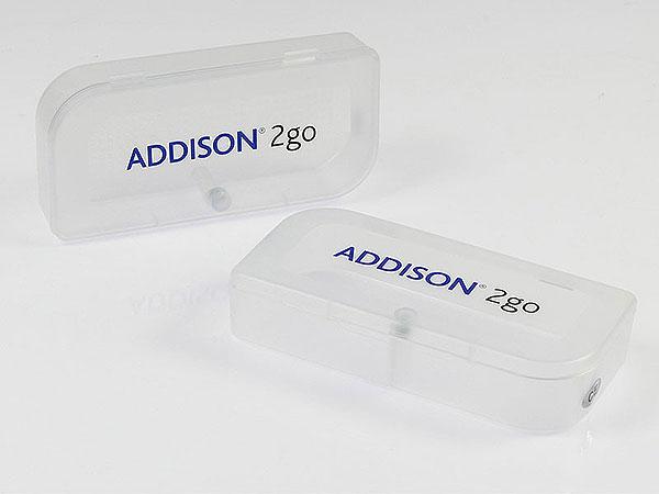 addison 2go verpackung transparent kunststoff bedruckt, P01 PP Verpackung M