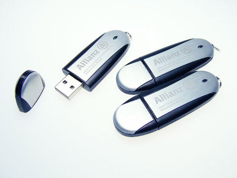 USB Stick allianz , Alu.03