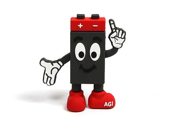 Batterie, Männchen, Maskottchen, rot, schwarz, fun, mann, PVC, people