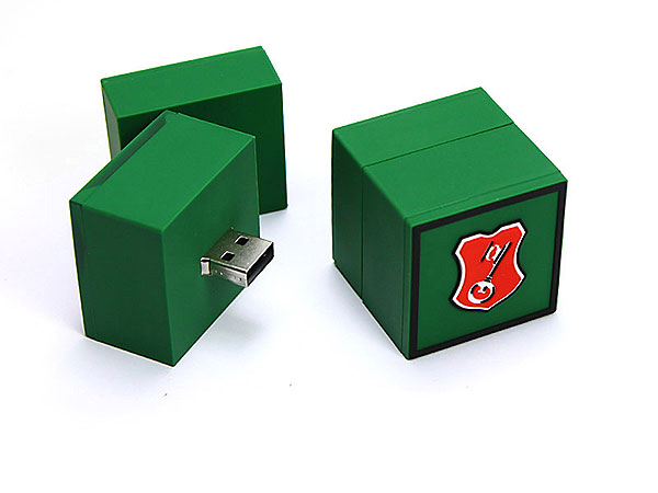 logo quadratisch, Becks, Bier, Würfel, Kasten, Produkt, grün, beck´s, cube, CustomLogo, PVC