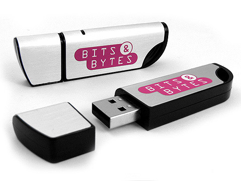 bits bytes usb-stick-aufdruck, deckel, Alu.04