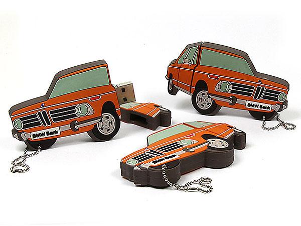 Auto, Oldtimer, BMW, Fahrzeug, Händler, orange, CustomProdukt, PVC