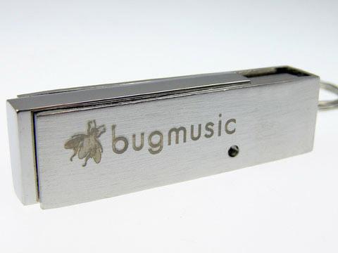 bugmusic gravierter Metall-USB-Stick, Metall.05