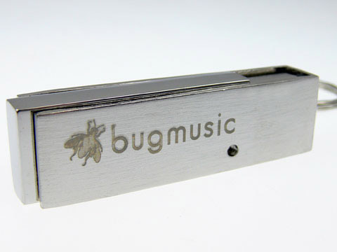 bugmusic gravierter Metall-USB-Stick, Metall.05