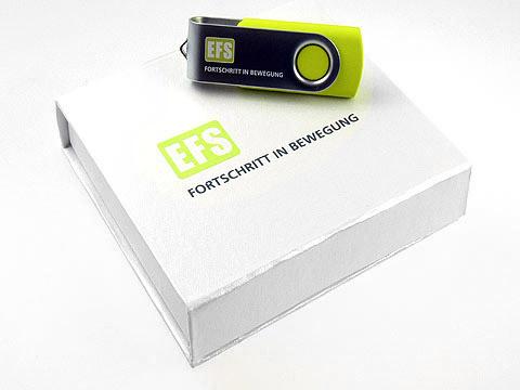 CI-USB-Stick Sonderfarbe Werbegeschenk, Metall.01