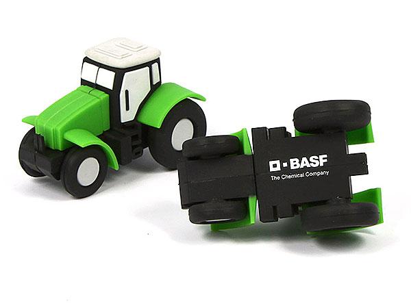 Creative USB-Stick Traktor BASF gruen