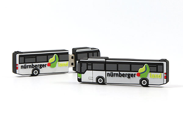 USB Stick Bus Transport Personen Reisen