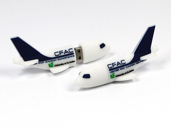USB Stick Flugzeug Transport