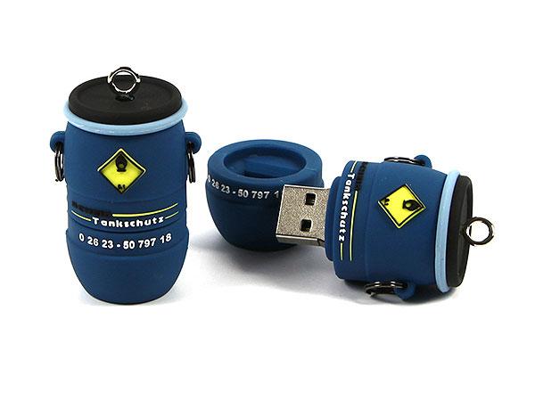 USB Stick Fass Tank Gefahrenschutz