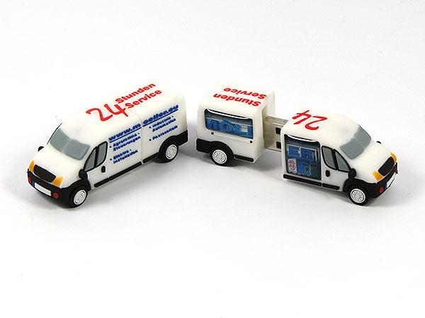 USB Stick Transporter Fahrzeug Kleintransporter