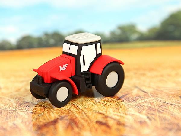 custom usb stick traktor werbegeschenk landwirtschaft logo